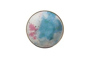 Porland Cosmos Düz Tabak Desen6 20 Cm Renkli